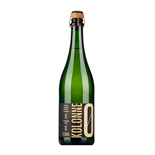 Kolonne Null - Alkoholfreier Sekt (1 x 0,75 L) - Riesling Jahrgang 2018