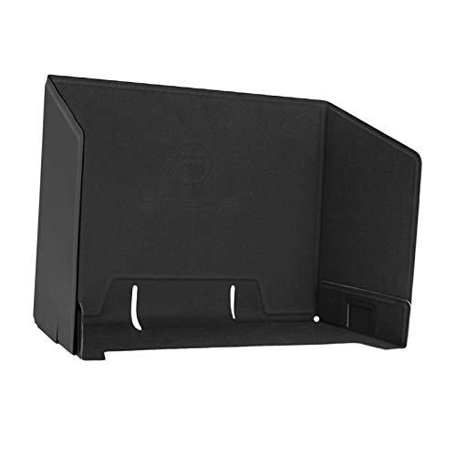 sharprepublic Cubierta de sombrilla para teléfono móvil y Tableta, Monitor Sun Hood para Drones RC Negro/Naranja - Negro