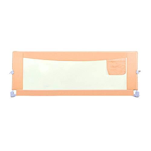 SMLZV Barandillas para Camas, Rieles de Cama Extra Long Long Swing Bed Bed Guards Doble Seguridad Bedrail, Niños Guardiatura para Gemelos Doble tamaño Completo Reina Reina (1 Lado 70.8'LX28.3 H)