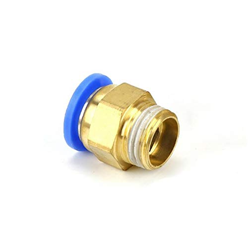 LAANCOO 3d Printer Accessories Pneumatic Quick Plug Hot Head Hot End Air Pipe Connector 1.75mm Inlet 5pcs