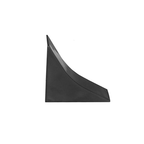 HOLZBRINK Endstück passend zum Dekor Ihrer Abschlussleisten Schwarz PVC Küchenabschlussleiste 23x23 mm