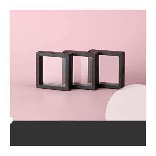 ZSP Estante de la joyería Estuche de Almacenamiento de joyería Organizador Box Set-portátiles de la joyer con PE película Protectora for los Collares/Pendientes/Anillos/Pernos prisioneros del oído,