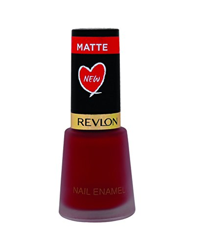 Revlon Nail Enamel, Red Marron Hot, 8ml