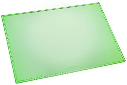 Läufer 32628 Durella doorschijnend bureau-onderlegger, 40 x 53 cm, transparant