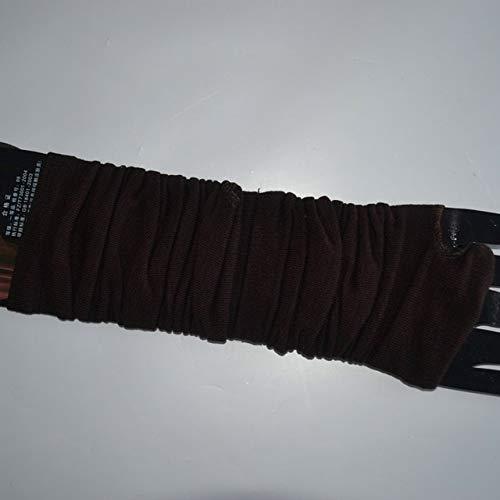 Moda Mujer señora Guantes de Codo a Rayas Calentador de Punto Guantes Largos sin Dedos Mitones de Codo a5