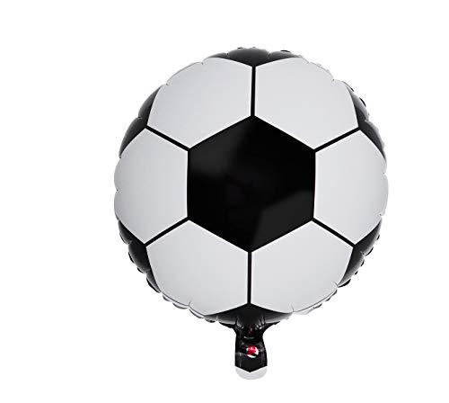H HANSEL HOME Globo pelota de fútbol Ø 45cm para todo tipo de fiestas, ceremonias y eventos como fiestas de cumpleaños, despedidas de soltero, bodas