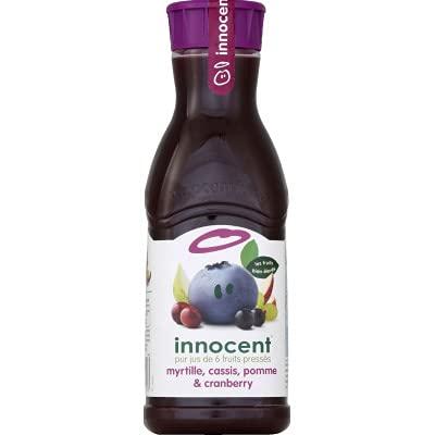 Innocent Jus de myrtille, cassis, pomme et Cranberry - La bouteille de 900 ml