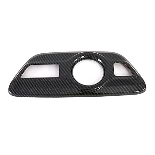QINQIN ABDOMINALES Accesorios de interiores Coche Auto Front Front Car Engranaje Cuadro Cuadro Cuadrado 1pcs Ajuste para Toyota Prius XW50 2017-2020