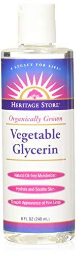 Heritage - Glicerina vegetal orgánico crecida - 8 oz.