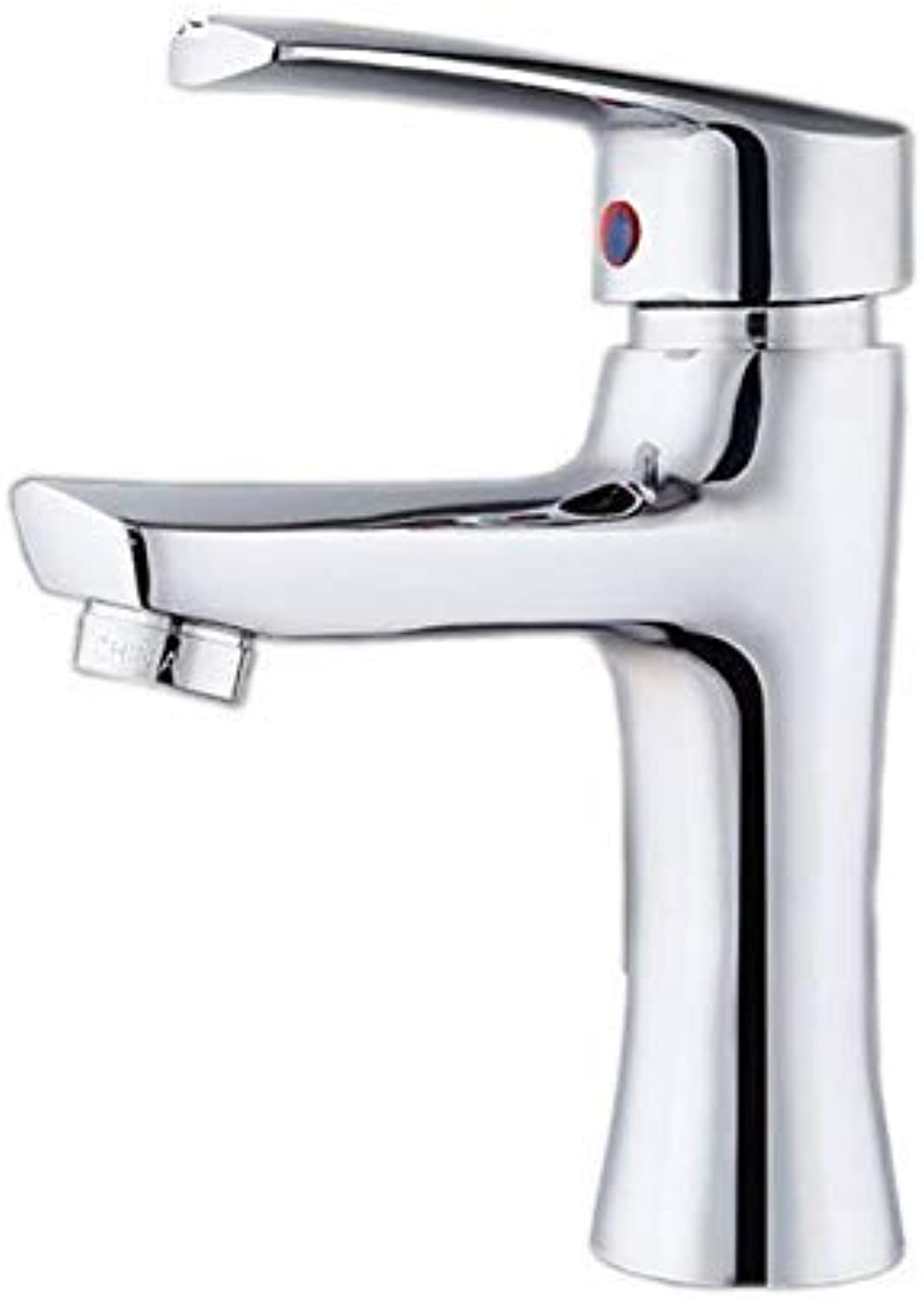 MONFS-Bathroom tap Taps Jade Single Hole Faucet Hot And Cold Washbasin Faucet Copper Mixer Taps