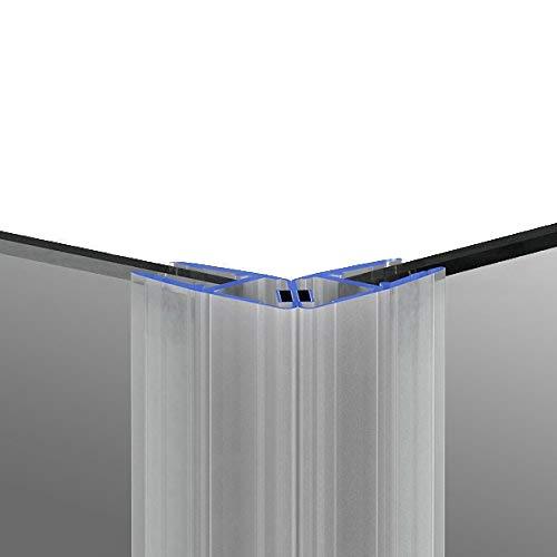 200cm M11 - DUSCHDICHTUNG Magnetdichtung für 5mm/ 6mm/ 8mm Glasstärke Wasserabweiser Duschdichtung DPD Schwallschutz Duschkabine Magnetduschdichtung .one-bath