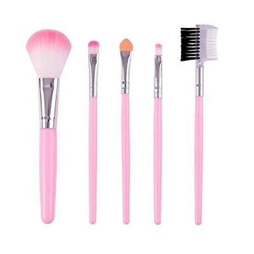 Maquillage Brush Contour Brush 5Pcs Maquillage Portable Outils De Beauté Blush Foundation Brush Fard À Paupières Brush Set