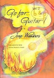 WANDERS JOEP; GO FOR GUITAR 2 - EASY PIECES; GIT CD