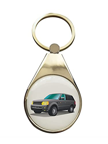 StartYourDreamCar Llavero compatible con Land Rover Range Rover Sport (1e gen).