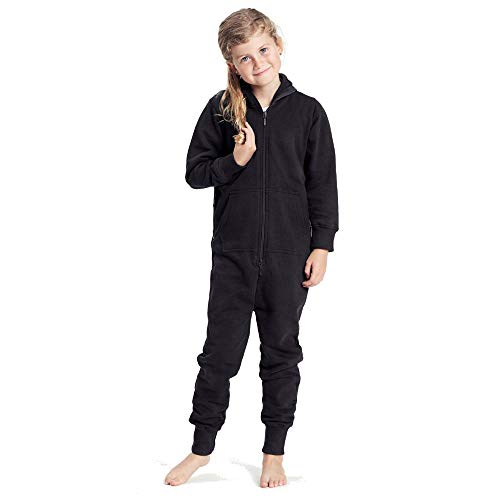 Neutral - Kinder Jumpsuit / Black, 140