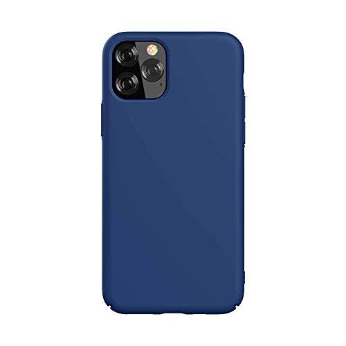 Funda de Silicona y protección de cámara para iPhone 11 Pro Azul