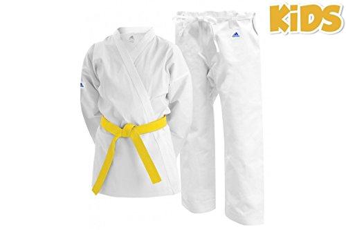 Adidas - Karategi K201Adistart blanco, K201, blanco, 100 cm