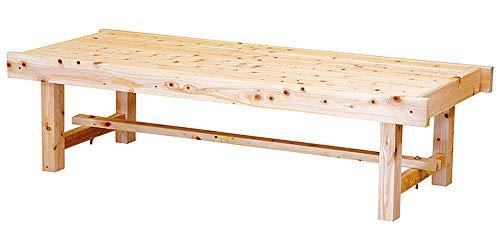 桧 床机 (無塗装) 中 [ 約150 x 60 x H40cm ] 【 床机 】 | 料亭 旅館 温泉 日本家屋 縁側