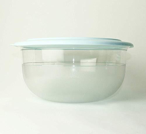 Tupperware Tafelperle 6,0 Liter 6000 ml OHNE Rand mit türkisfarbenen Deckel Classic Royal türkis Aqua