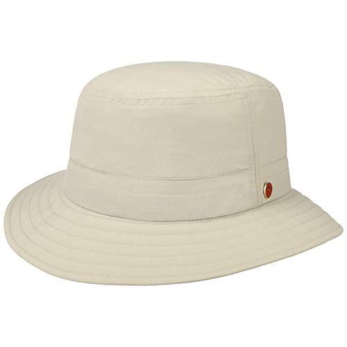 Mayser Sombrero de Sol Protección UV Pescador (62 cm - Beige)