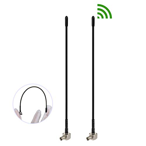 Bingfu 4G LTE 3dBi Soft Whip External TS9 Aerial Antenna (2-Pack) Compatible with AT&T T-Mobile Sprint Netgear Huawei MiFi Mobile Hotspot Router USB Modem Jetpack AirCard AC791L 6620L AC815S AC770S
