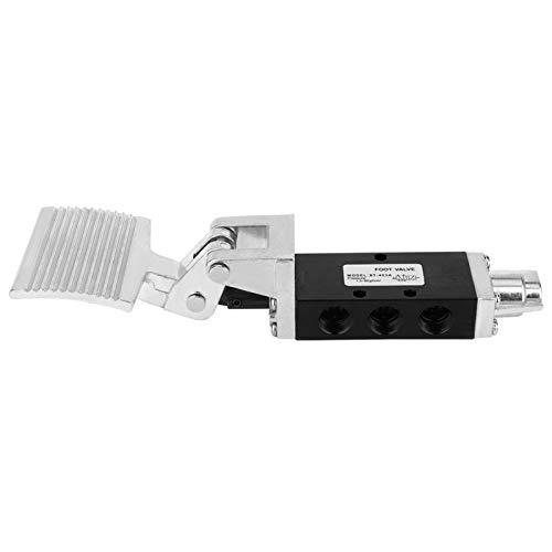 Pedal G3 / 8 pulgadas 2 posiciones 5 vías válvula de control de válvula neumática válvula de Pedal neumático para máquina