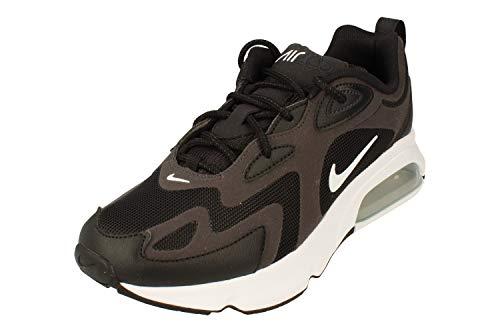 Nike Air Max 200 Uomo Running Trainers CI3865 Sneakers Scarpe (UK 5.5 US 6 EU 38.5, Black White off Noir 001)