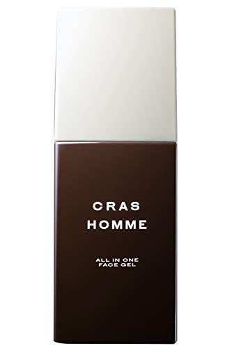 CRAS HOMME(クラースオム) 化粧水 オールインワンジェル メンズ [ 化粧水 乳液 クリーム 美容液 ] 無添加 乾燥・テカリ 敏感肌 スキンケア エイジングケア 2~3ヶ月分 100mL