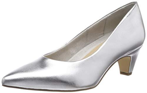 Tamaris Damen 1-1-22428-22 941 Pumps, Silber (Silver 941), 36 EU