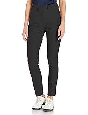 adidas Golf Women's Full Length Pant, Black, 6