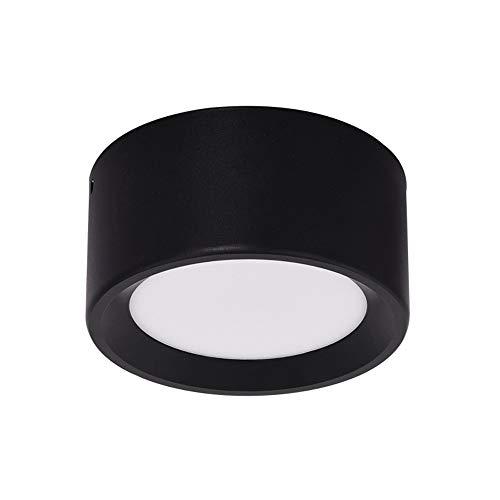 Mrdsre Opbouwdownlight Aluminium Ultradunne Ronde plafondlamp Plafondmontage LED Anti-fog Patch Plafondlamp LED opbouwspot licht for Woonkamer Slaapkamer Keuken