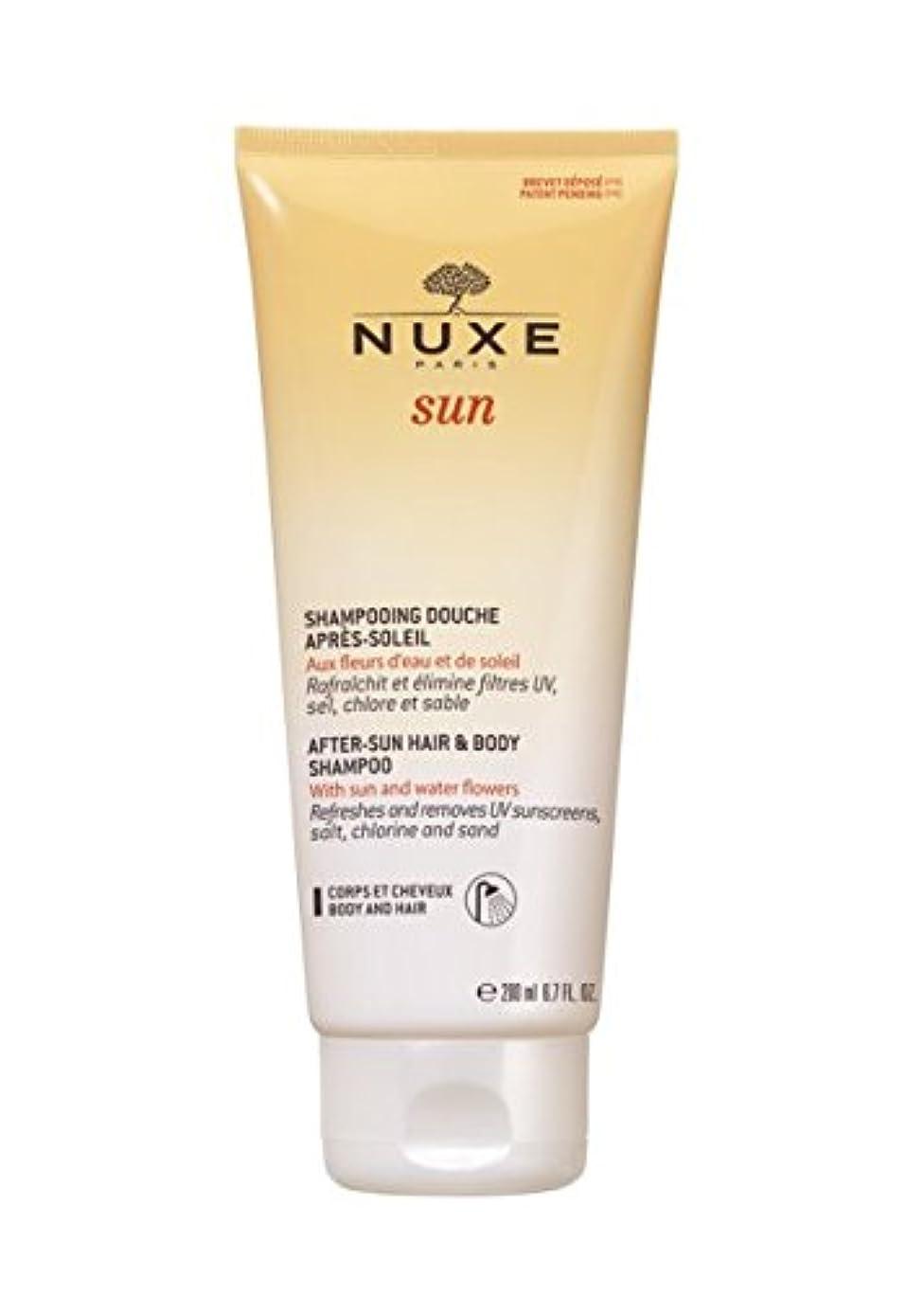 スケッチ考慮遊びますNuxe Sun After-sun Hair And Body Shampoo 200ml