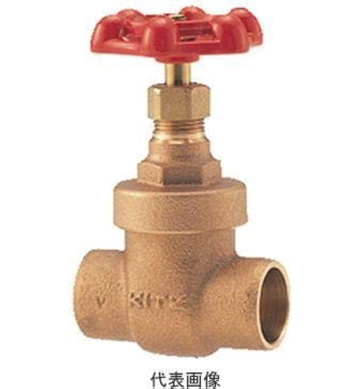 安定したトーナメントペストキッツ KITZ CH 25A (5) (1インチ) 汎用 銅管接続用ゲートバルブ(CH)