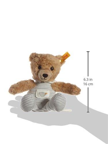 Steiff 239922 – Schlaf Gut Bär Spieluhr, 20 cm, grau - 2