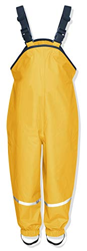 Playshoes Regenlatzhose Textilfutter 405514 Unisex - Kinder Hosen/ Lang, Gr. 86 Gelb (gelb 12)