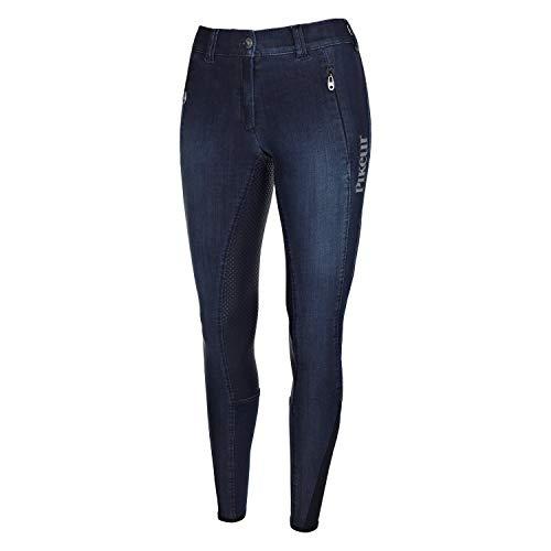 Eskadron Pikeur Janelle Grip Jeans Damen Reithose VB Nightblue HW 19, Es18_19_ZwYS_Gr.:40