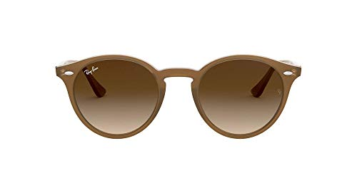 Ray-Ban Unisex Rb 2180 Sonnenbrille, Braun (Gestell: braun, Gläser: braun Gradient 616613), Medium (Herstellergröße: 51)