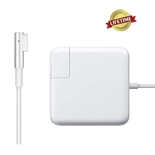 Mac Book Pro Charger, Replacement for Mac Book Pro Charger with 13 Inch Display Before 2012 AC 60W Magsafe1 Connector Power Adapter