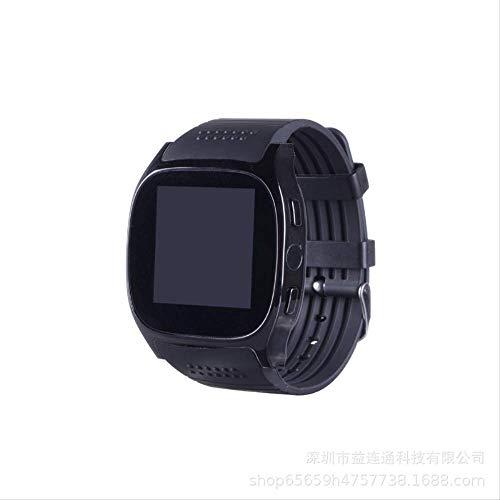 kivinxinyi 1,5 Inch Hartslag Horloge Bloeddruk Beweging Monitoring Bluetooth mannen en vrouwen Beweging Tracking Telefoon Fotolocatie Smartwatch (zwart)