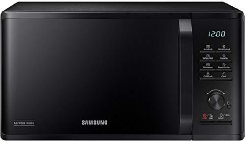 SAMSUNG Mikrowelle 23 l 800 W MS23K3515AK mit Defrost Schwarz