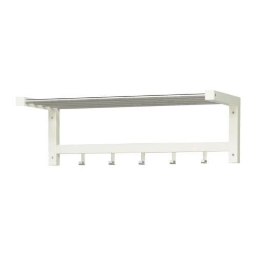 Ikea IKE-401.526.33 TJUSIG Hutablage in weiß