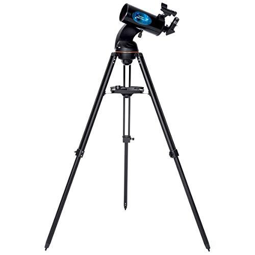 Product Image of the Celestron Astro Fi 102 Wi-Fi Maksutov Wireless Reflecting Telescope, Black...
