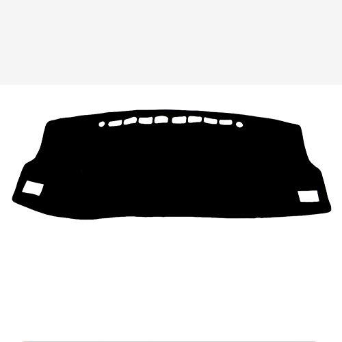 OPIUYS Almohadillas de salpicadero de coche, almohadillas de cubierta de salpicadero, consola central parasol a prueba de polvo, para Toyota iM E180 2016-2018