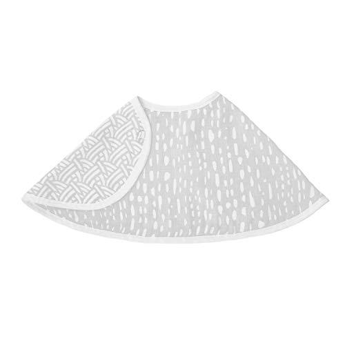 "aden + anais Essentials Burpy Bib, 100% Cotton Muslin, Soft Absorbent 4 Layers, Multi-Use Burp Cloth and Bib, 22.5"" X 11"", Single, Pasture - Drips"