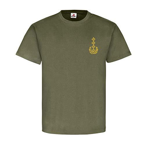 General Dienstgrad Bundeswehr BW Abzeichen Schulterklappe - T Shirt #15910, Größe:XXL, Farbe:Oliv