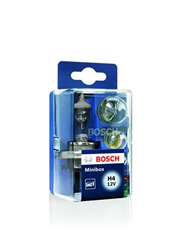 Bosch Scatola di Lampadine di Ricambio Minibox, H4 12V