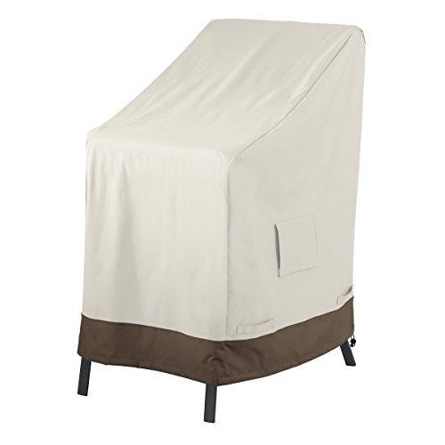 Amazon Basics Housse de protection pour chaises de jardin empilables