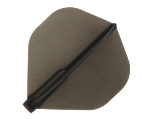 Cosmo Darts Fit Flight – 6 Stück Standard Dart Flights, grau, Standard