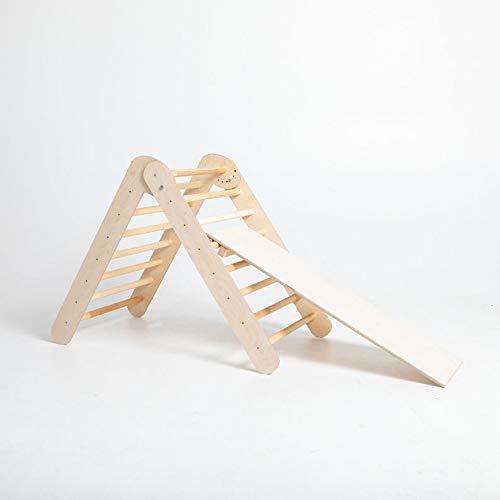 Pikler dreieck, Pikler triangle, Klettern Dreieck, Schrittdreieck,Kletterdreieck für Kleinkinder (Without ramp)