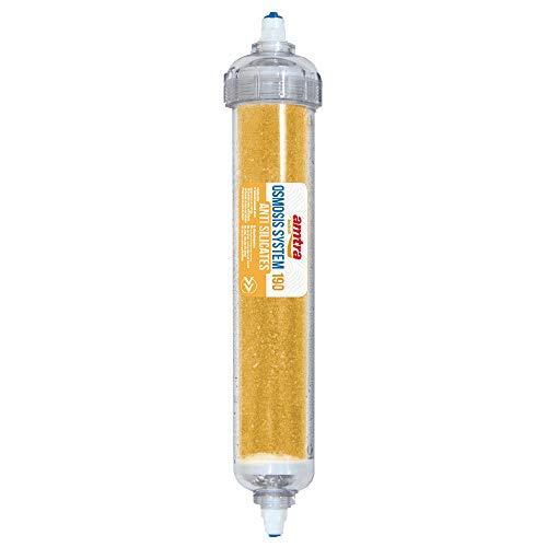 Amtra Cartuccia Anti SILICATI Osmosis System 190 - Resina Post osmosi a per la rimozione Completa dei Silicati (SiO4) dall acqua osmotica